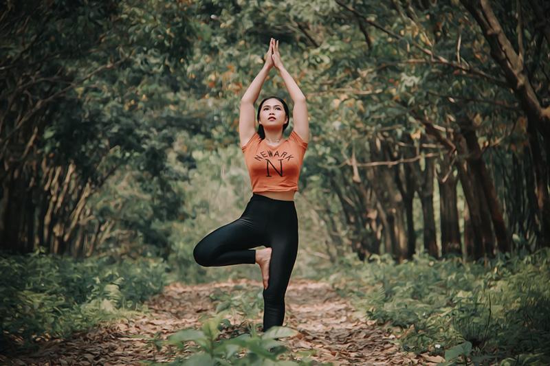 La méditation dans la nature